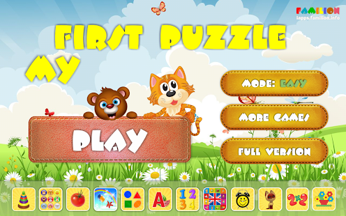 My First Puzzle for kids- screenshot thumbnail