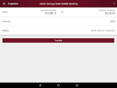 Ulster Savings Bank- screenshot thumbnail