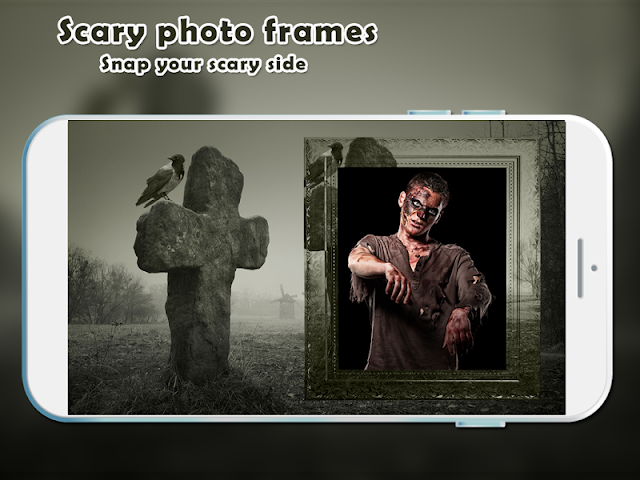 android Scary Photo Frames Screenshot 1