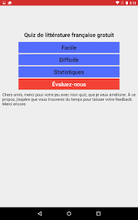 Quiz de Littérature gratuit- screenshot thumbnail