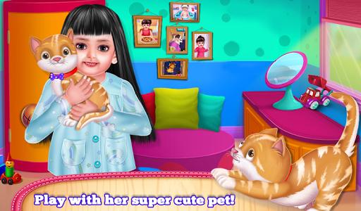 Aadhya's Good Night Activities Game filehippodl screenshot 12