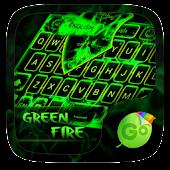 Green Fire GO Keyboard Theme