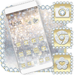 Luxury Gold & Silver Launcher Theme 1.1.5