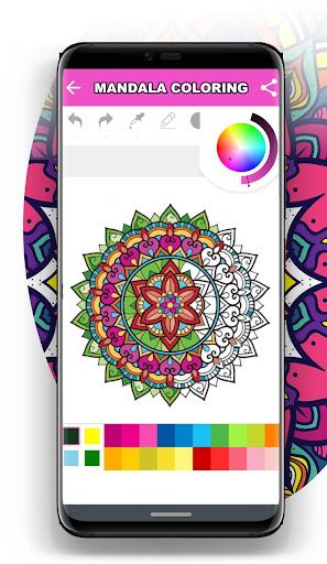 Mandala Coloring Book for Free screenshot 7