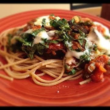 Healthy Eggplant Parmesan!
