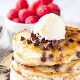 Chocolate Chip Pancakes.