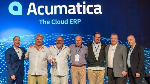 2019 Acumatica's International Partner of the Year award.