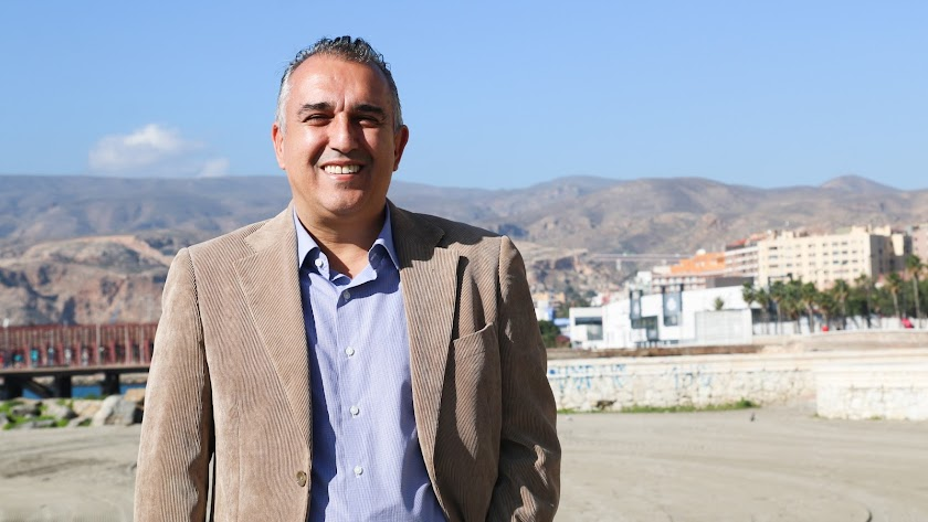 Adolfo Gutiérrez, en Almería