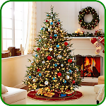Christmas Tree Decoration Ideas Icon