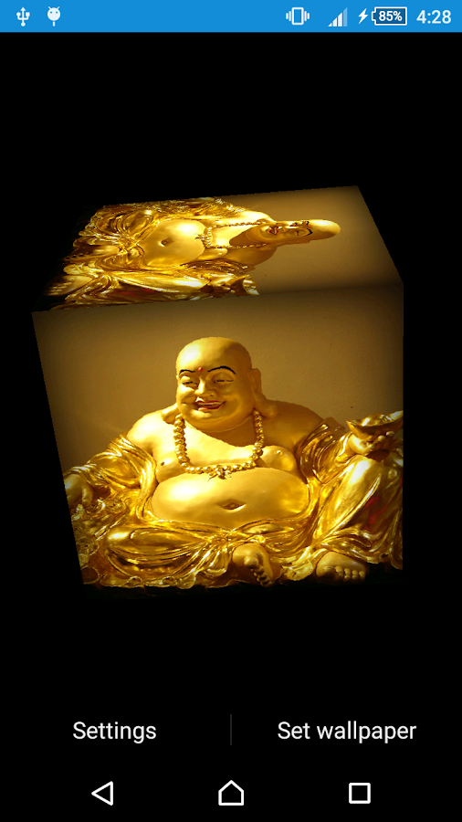 Laughing Buddha Wallpaper