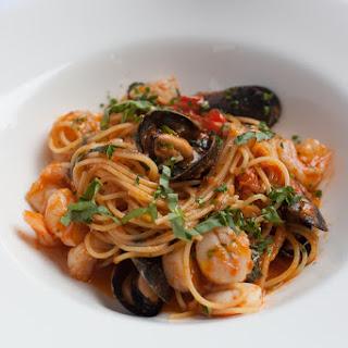 Giardino Restaurant's Seafood Spaghettini