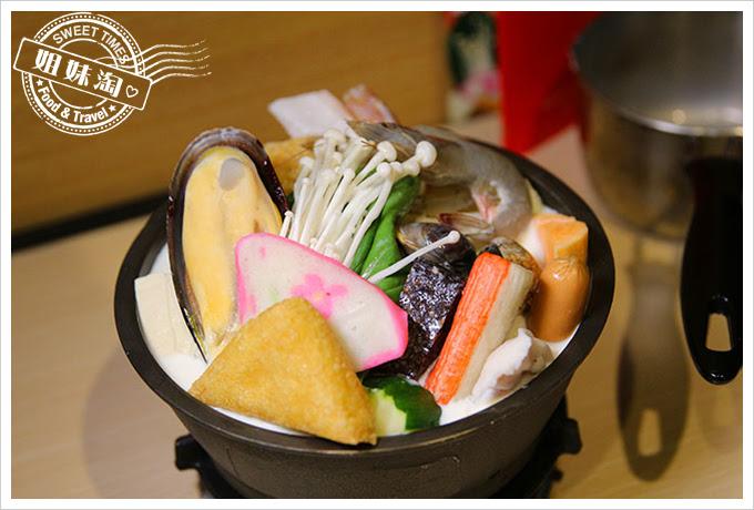 茉荳獨享鍋北海道牛奶海鮮鍋
