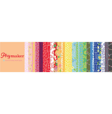Fat Quarter Bundle Playmaker av Victoria Findlay Wolfe (16294)