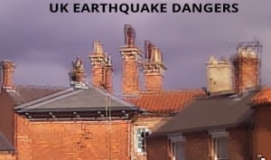 Photo: The major danger in a UK quake over 5.5R would be the redundant tonnage of chimneys kept for senti-mental aesthetics in most conservation areas. Areas like Christchurch NZ or Washington USA, that have had heavy tremoring, learnt very quickly that ornaments weighing enough to squidge cars could be done without.