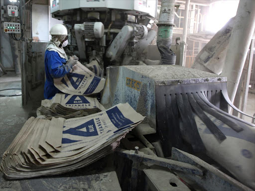 Stalled state projects hurt cement makers