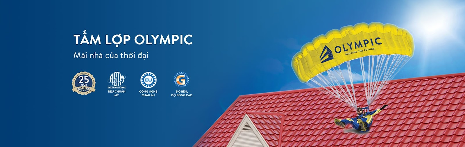 Tôn Olympic - Mái nhà của thời đại