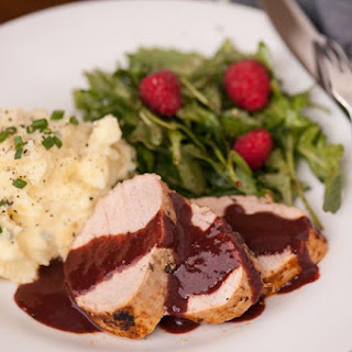 Pork Tenderloin with Raspberry Sauce