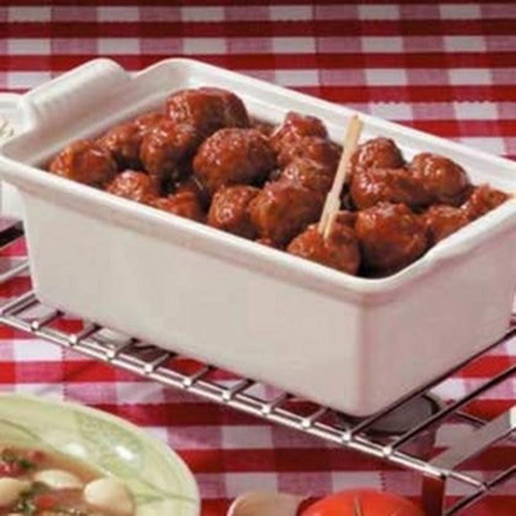 Appetizer Meatballs (Frozen Meatballs) Recipe