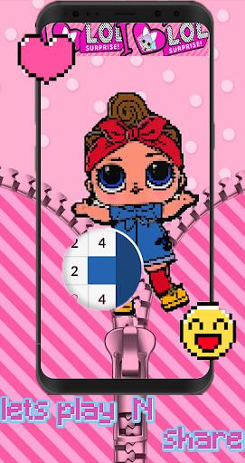 Pixel Surprise Pink DOLLS Screenshot