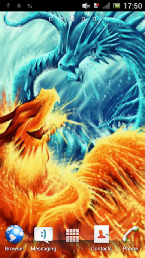 Two dragons Live Wallpaper