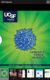 UCSF Magazine - screenshot thumbnail