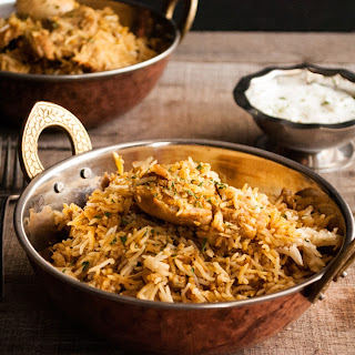 Rice Cooker Chicken Biryani