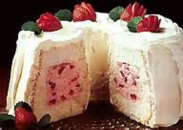 Filled Angel Food Cake Recipe