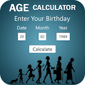 Age Calculator - Date Difference Calculator