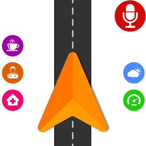 Voice GPS Navigator, GPS Navigation Driving, Mapz