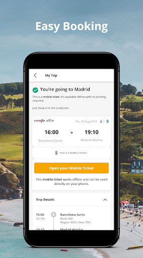 GoEuro: trains, buses, flights  screenshots 4