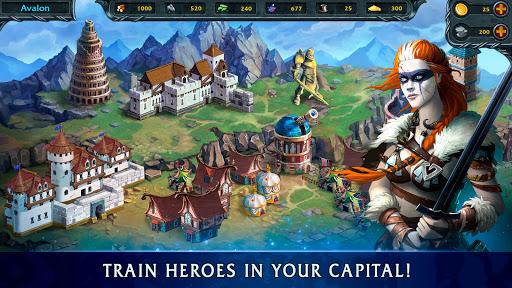 Heroes of War Magic.  Turn-based strategy 1.4.0.3 screenshots 4