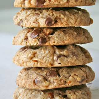 Coconut Pecan Chocolate Chip Oatmeal Cookies.