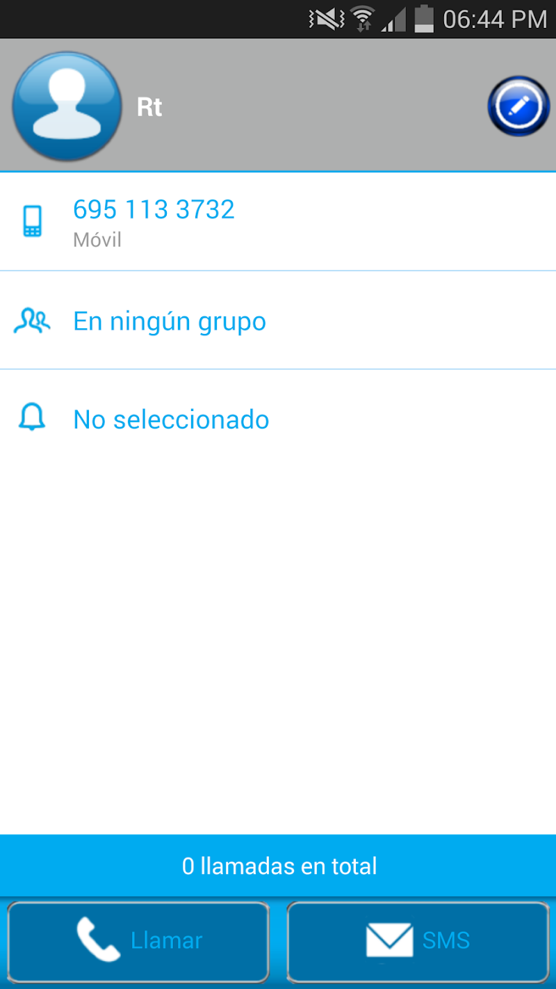 Скриншот THEME BLUE GLASS FOR EXDIALER