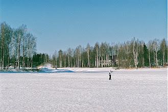 Photo: The mouth of Äijälä river seen from lake Päijänne