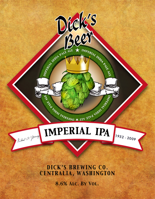 Logo of Dick's Imperial IPA