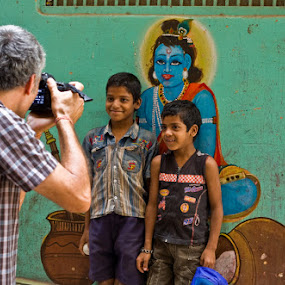 by Santosh Pandey - People Street & Candids ( photographer, taking photos, pwc75 )
