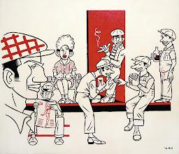 "Photo: ""Great Depression"" acrylic on canvas  2012"