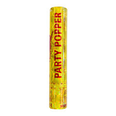 Party Popper, guld 28 cm