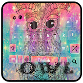 Owl Android APK Download Free By Pretty Keyboard Theme