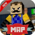 New map for MCPE Mega neighbor Alfa 3 APK