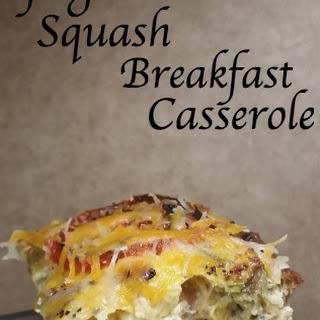 Spaghetti Squash Breakfast Casserole