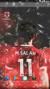 Mohamed Salah Wallpaper Football Player - náhled