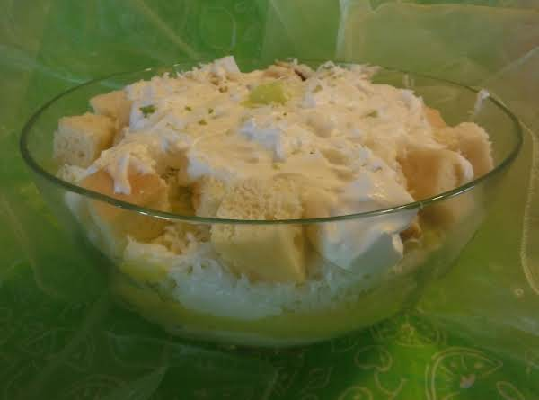 Lime Coconut Trifle Recipe