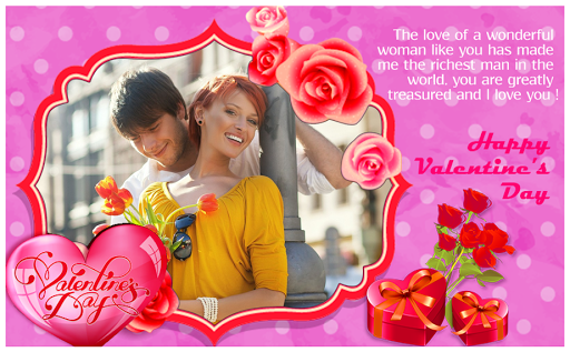 Valentine Day Photo Frame 2018 - Love Photo Frame 6.0 screenshots 5