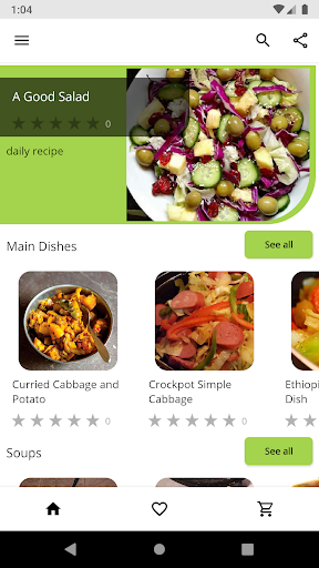Cabbage Recipes 2.04 screenshots 1