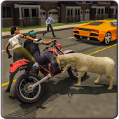 Angry Goat in Town Simulator 3D Goat Frenzy attack