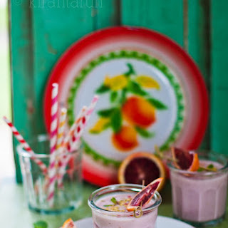 Blood Orange Lassi