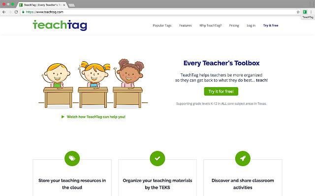 TeachTag Bookmarklet