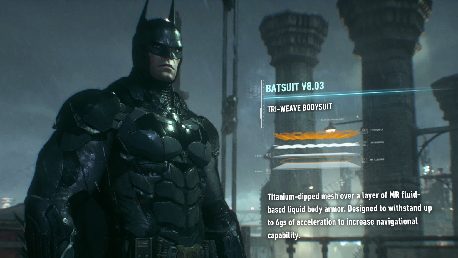 New Batsuit Batman Arkham Knight PS4