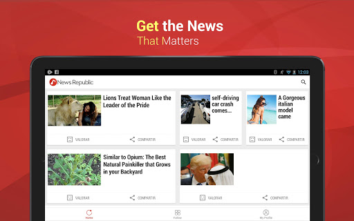 News Republic: Breaking News & Local News For Free screenshot 9